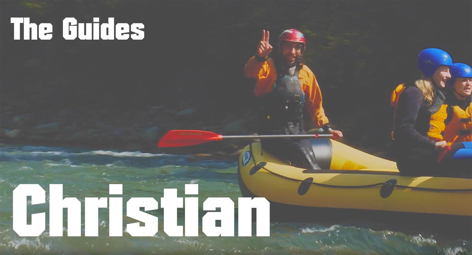 Guide Christian from Südtirol Rafting Expeditions